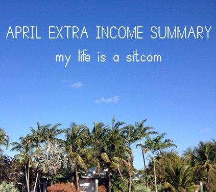 April Side Income $1164