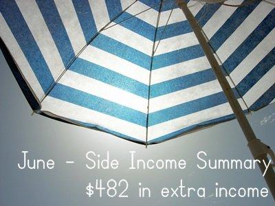 June Side Income $482
