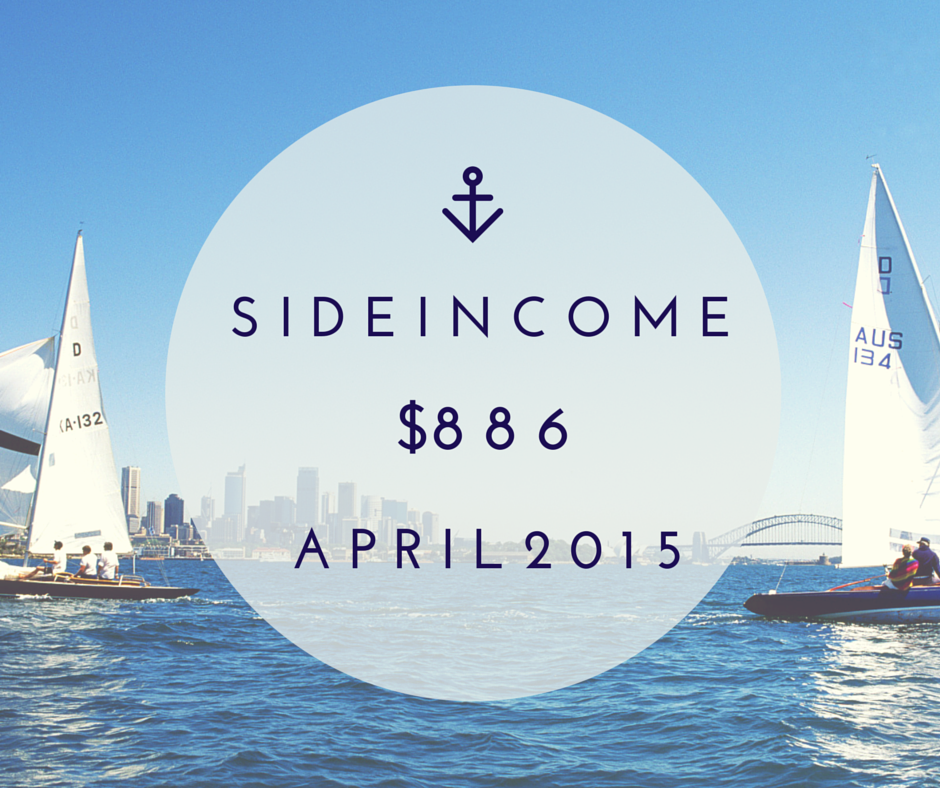 April Side Income $886