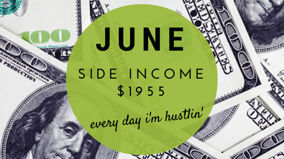 June Side Income $1955