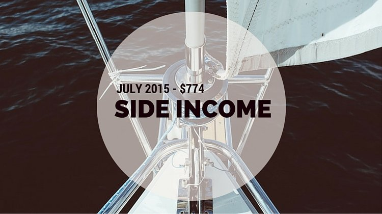 July Side Income $774