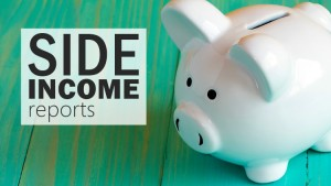 Side income reports - Saving to Sail. Monthly online income reports