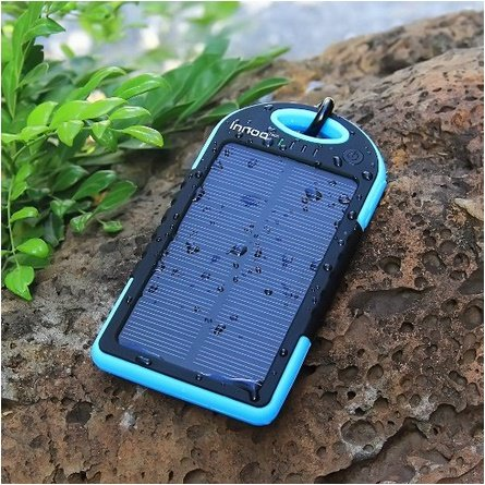 Cell phone solar charger - iphone power bank