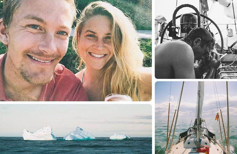 Jessie, formerly half of the duo known as Jessie and Katie living on a boat, now completed her journey with her best friend and is sailing around with her beau Luke. They just completed an Atlantic crossing. You can follow along with their sailing advenure on Jessie's Instagram account.