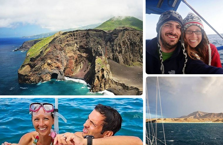 Matt and Jessica's sailing Instagram account has photos of their travels throughout the Caribbean and parts of Europe. Soon, we'll be seeing photos of their trip to the northern latitudes which will be a nice break from palm trees and sandy beaches.