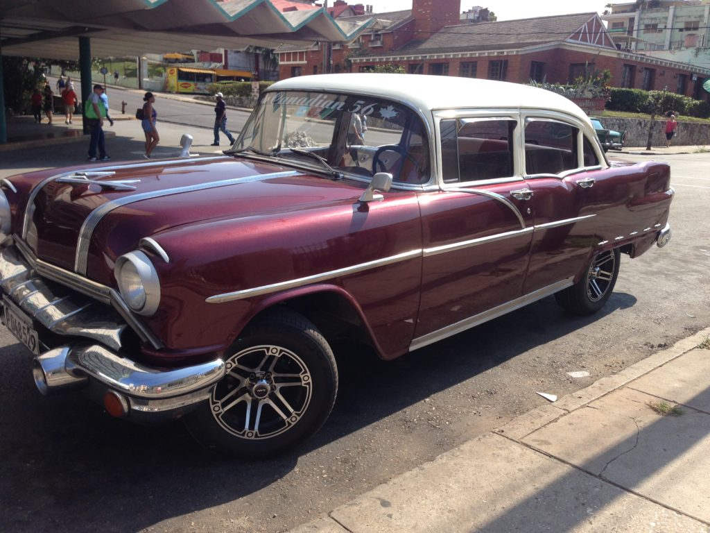 Loved seeing these old cars throughout Havana Cuba