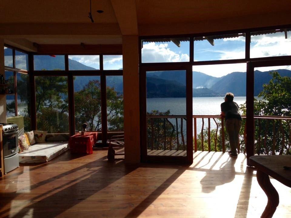 Surprise birthday trip to Lake Atitlan