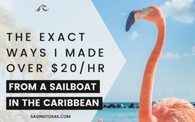 Work From Anywhere: The exact ways I made over $20/hr from a boat in the Caribbean