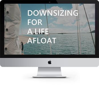 Gifts for sailors - Downsizing for a Life Afloat ecourse