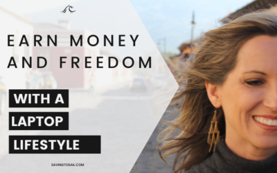 Earn money and freedom with a laptop lifestyle