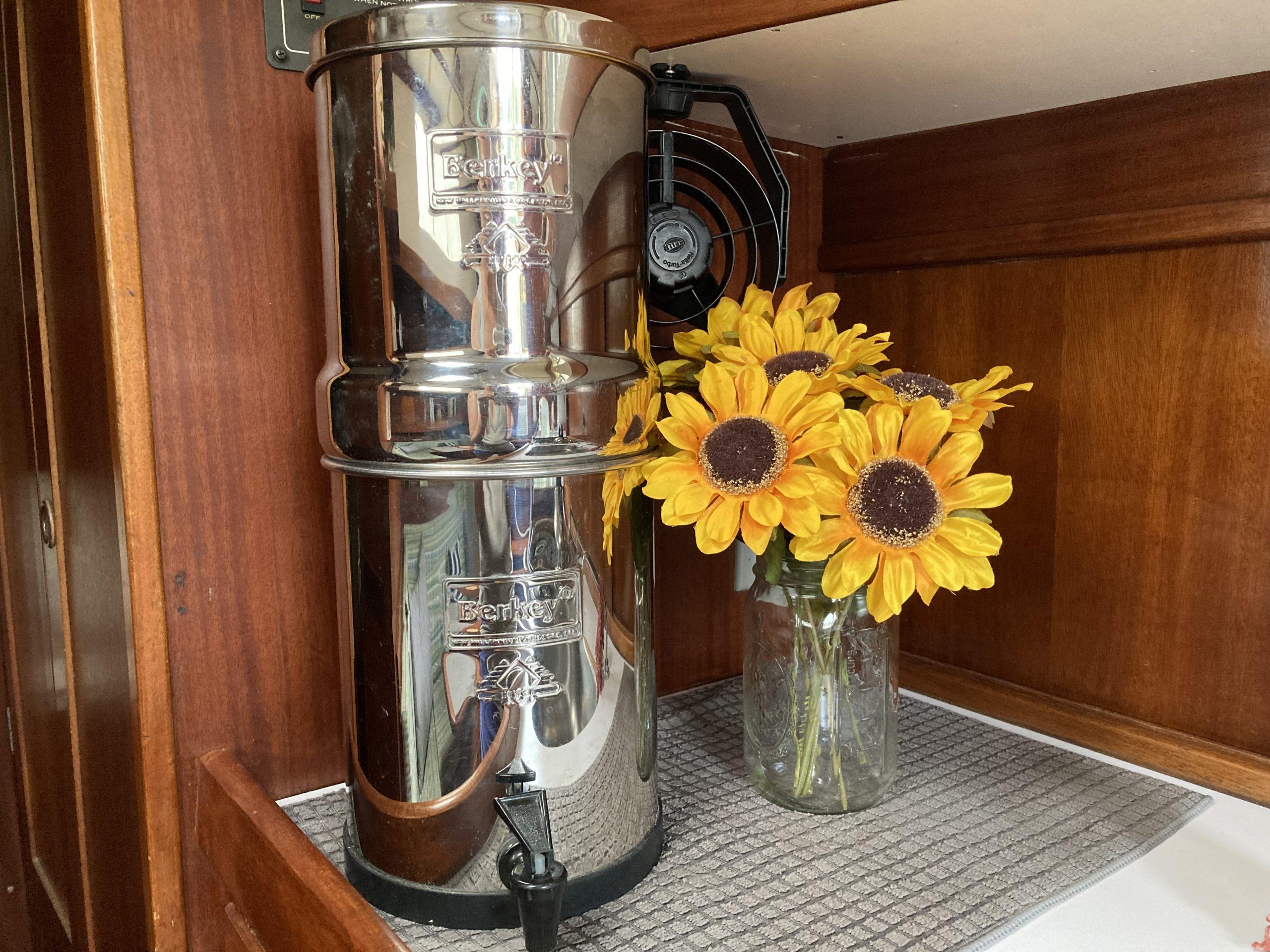 Berkey stainless steel water filter