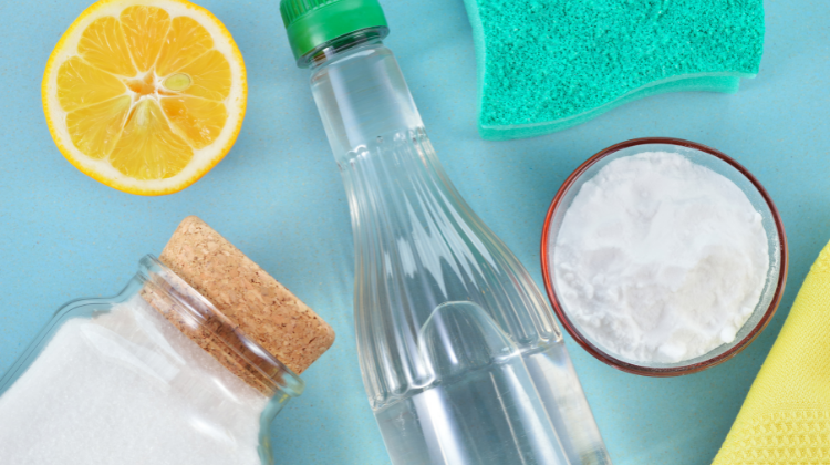 Eco-friendly cleaning products and eco-friendly laundry detergents