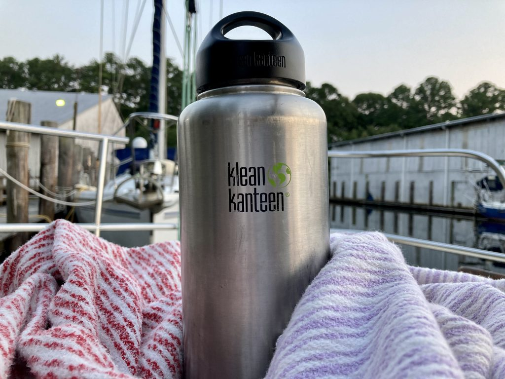 Klean Kanteen eco-friendly stainless water bottle