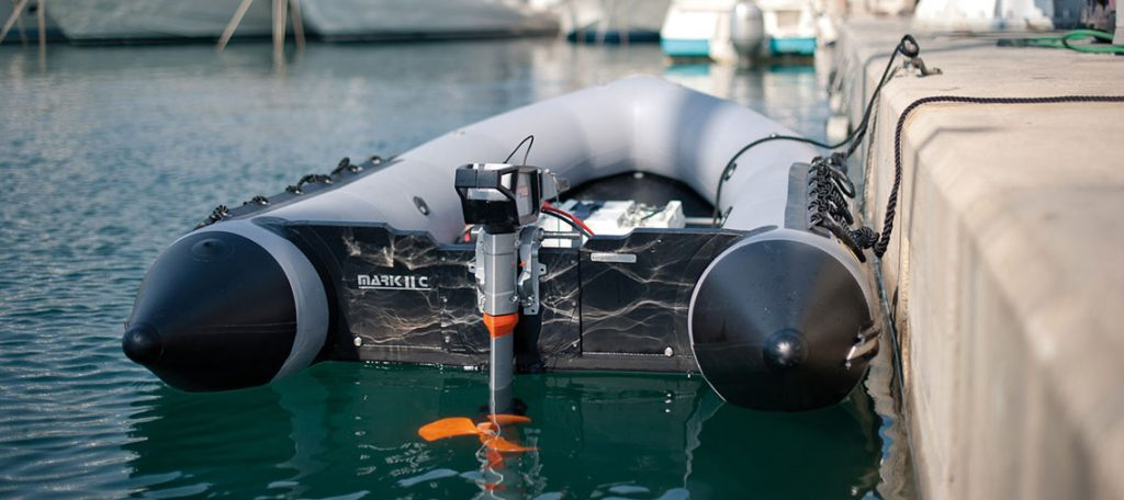 Torqeedo electric dinghy motor